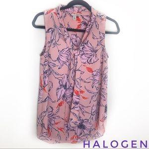Halogen sleeveless v neck top